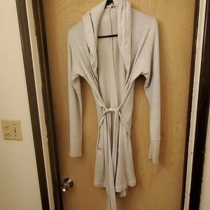 Robe with pockets